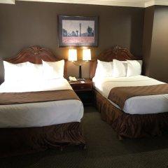 Отель Knights Inn Los Angeles Central / Convention Center Area сейф в номере