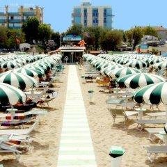 Hotel Palm Beach Римини пляж фото 2