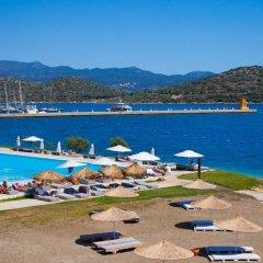 The Doria Hotel Yacht Club Kas Турция, Патара - отзывы, цены и фото номеров - забронировать отель The Doria Hotel Yacht Club Kas онлайн пляж