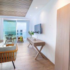 Отель Limanaki Beach Hotel Кипр, Айя-Напа - 1 отзыв об отеле, цены и фото номеров - забронировать отель Limanaki Beach Hotel онлайн комната для гостей фото 2