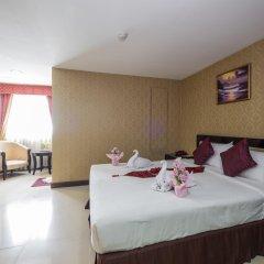 Отель Grand Lucky Бангкок комната для гостей