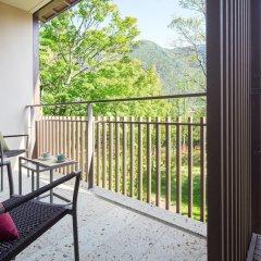 Отель Hoshino Resorts KAI Kinugawa Никко балкон