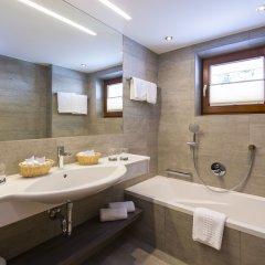 Отель Jenewein Австрия, Хохгургль - отзывы, цены и фото номеров - забронировать отель Jenewein онлайн ванная