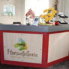 Отель Horsetellerie Rheezerveen интерьер отеля