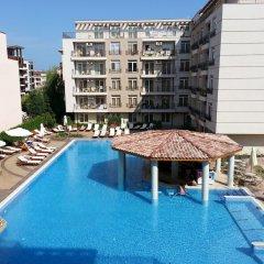 Отель Апарт-Отель Menada Dawn Park Болгария, Солнечный берег - отзывы, цены и фото номеров - забронировать отель Апарт-Отель Menada Dawn Park онлайн бассейн