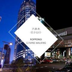 Отель Inno Family Managed Hostel Roppongi Япония, Токио - отзывы, цены и фото номеров - забронировать отель Inno Family Managed Hostel Roppongi онлайн вид на фасад