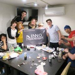 Отель Inno Family Managed Hostel Roppongi Япония, Токио - отзывы, цены и фото номеров - забронировать отель Inno Family Managed Hostel Roppongi онлайн питание фото 2