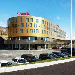 Отель Scandic Flesland Airport парковка