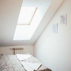 Хостел Крыша Стандартный номер двуспальная кровать фото 14
