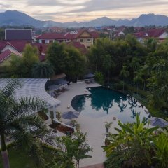 Отель The Luang Say Residence парковка