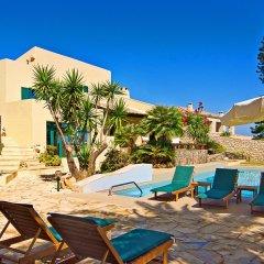 Отель Aegean Blue Villa бассейн