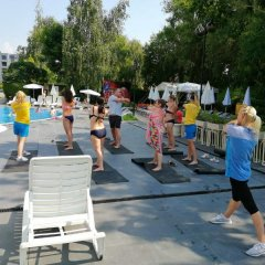 Aquamarine Hotel фитнесс-зал