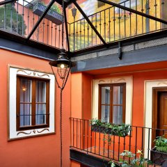 Отель Residence U Cerného Orla балкон