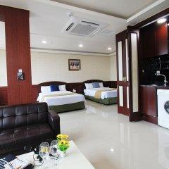 Отель Inter City Seoul сауна