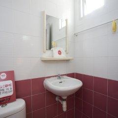 Отель NIDA Rooms Ramkhamhaeng 814 Campus Таиланд, Бангкок - отзывы, цены и фото номеров - забронировать отель NIDA Rooms Ramkhamhaeng 814 Campus онлайн ванная фото 2