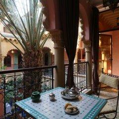 Отель Riad Atlas Quatre & Spa Марокко, Марракеш - отзывы, цены и фото номеров - забронировать отель Riad Atlas Quatre & Spa онлайн балкон