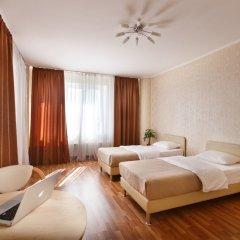 Гостиница Дом Апартаментов Тюмень комната для гостей фото 3