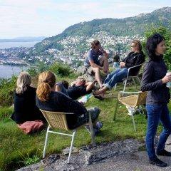 Bergen Hostel Montana Берген спортивное сооружение