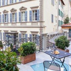 Отель Embassy Hotel Италия, Флоренция - отзывы, цены и фото номеров - забронировать отель Embassy Hotel онлайн балкон