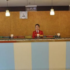 Отель Hejia Inn Beijing Anwai в номере