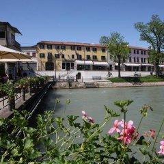 Отель Albergo Alla Campana Доло приотельная территория фото 2