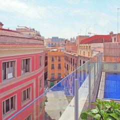 Апартаменты Catedral Bas Apartments Барселона балкон