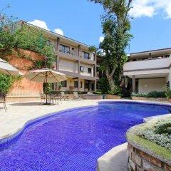 Отель Plaza Magdalena Hotel Гондурас, Копан-Руинас - отзывы, цены и фото номеров - забронировать отель Plaza Magdalena Hotel онлайн бассейн фото 2