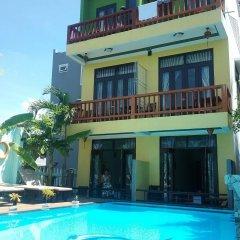 Отель Vip Garden Homestay Хойан бассейн фото 2