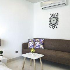 Отель Wong Amat Tower Apt.909 Паттайя комната для гостей фото 3