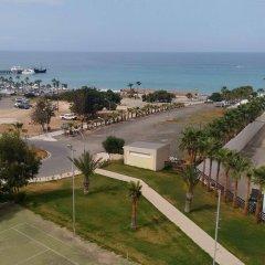 Отель Trizas Hotel Apartments Кипр, Протарас - отзывы, цены и фото номеров - забронировать отель Trizas Hotel Apartments онлайн пляж