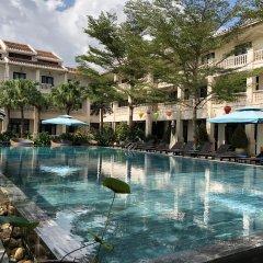 Отель Thanh Binh Riverside Hoi An Вьетнам, Хойан - отзывы, цены и фото номеров - забронировать отель Thanh Binh Riverside Hoi An онлайн бассейн фото 2