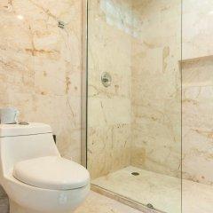 Отель Costa Fina Oceanview Penthouse Мексика, Плая-дель-Кармен - отзывы, цены и фото номеров - забронировать отель Costa Fina Oceanview Penthouse онлайн ванная