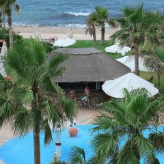 Aquamare Beach Hotel & Spa пляж