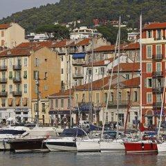 Отель Aquamarine Франция, Ницца - отзывы, цены и фото номеров - забронировать отель Aquamarine онлайн приотельная территория