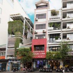 Отель OYO Hoang Linh Hotel Вьетнам, Хошимин - отзывы, цены и фото номеров - забронировать отель OYO Hoang Linh Hotel онлайн вид на фасад