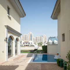 Отель Dream Inn Dubai-Luxury Palm Beach Villa фото 3