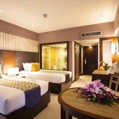 Patong Merlin Hotel 4* Стандартный номер с различными типами кроватей фото 8