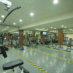 Отель Golden Parnassus Resort & Spa - Все включено фитнесс-зал фото 2