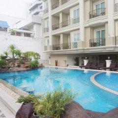 Отель LK The Empress Таиланд, Паттайя - 3 отзыва об отеле, цены и фото номеров - забронировать отель LK The Empress онлайн бассейн фото 3