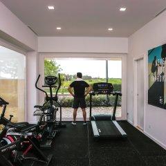 Отель Bom Sucesso Design Resort Leisure & Golf Обидуш фитнесс-зал фото 2