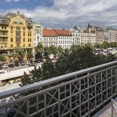 Апартаменты Capital Apartments Prague балкон