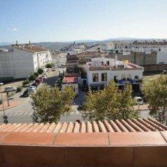 Отель Hostal Málaga балкон