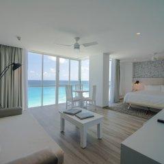 Отель Oleo Cancun Playa All Inclusive Boutique Resort комната для гостей фото 7