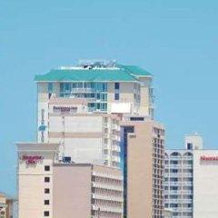 Отель Best Western Center Inn США, Вирджиния-Бич - отзывы, цены и фото номеров - забронировать отель Best Western Center Inn онлайн пляж фото 2
