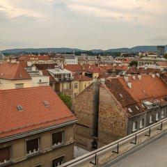 Youth Hostel Zagreb балкон