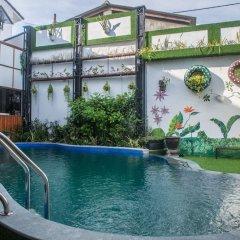 Отель Ngo House 2 Villa Хойан бассейн фото 2
