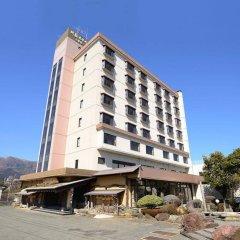Aso Hotel Минамиогуни вид на фасад