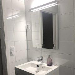 Отель Kvadraturen Apartments Social Норвегия, Кристиансанд - отзывы, цены и фото номеров - забронировать отель Kvadraturen Apartments Social онлайн ванная