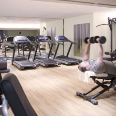 Отель Hyatt House Dusseldorf Andreas Quarter фитнесс-зал