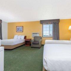 Отель Days Inn by Wyndham Great Bend США, Хойзингтон - отзывы, цены и фото номеров - забронировать отель Days Inn by Wyndham Great Bend онлайн удобства в номере фото 2